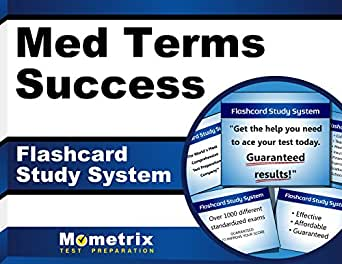 Med Terms Success Flashcard Study System: The Easy Way to Learn Medical Terminology