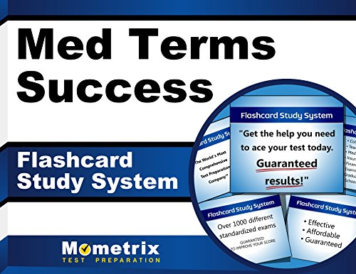 Med Terms Success Flashcard Study System: The Easy Way to Learn Medical Terminology (Cards)