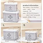 SMEI Medicine Box First Aid Kit Boîte De Plastique Container Emergency Kit Portable Multi-layer Large Capacity Storage… 10