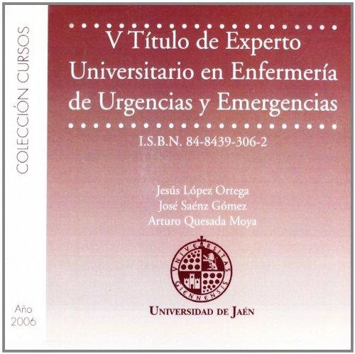 Descargar Libro V Título De Experto Universitario En Enfermería De Urgencias Y Emergencias Jesús López Ortega