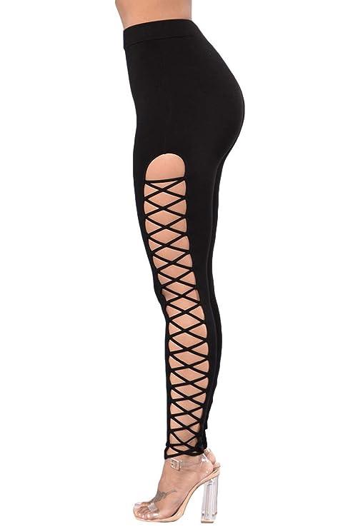 Amazon.com: Wall of Dragon Summer Sexy Thin Waist Legging ...
