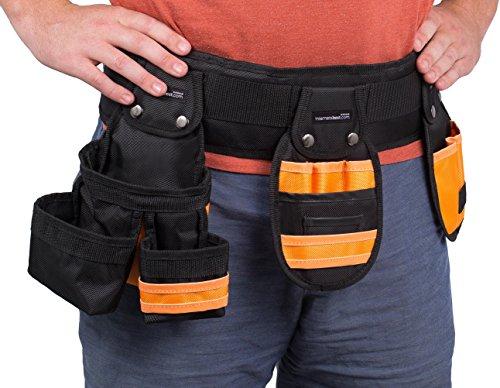 Internet's Best Tool Belt Carpenter Apron   10 Pockets   Quick Release (10 Pocket Belt)
