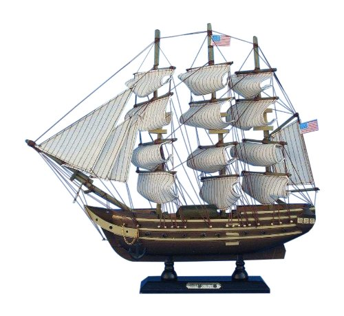 Hampton Nautical  USS Constitution Tall Ship, 15'
