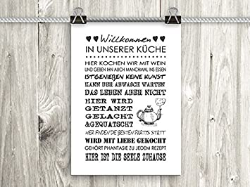 Amazon.de: artissimo, Poster mit Spruch, Din A4, PE0042-DR ...