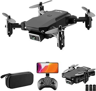 Opinión sobre Goolsky S66 RC Drone con cámara 4K Drone Cámara Dual Posicionamiento de Flujo óptico WiFi FPV Drone Modo sin Cabeza Altitud Hold Gesto Foto Video Pista Vuelo 3D FILP RC Qudcopter (Bolso, 3 Batería)
