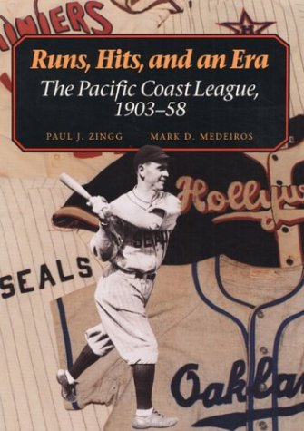 Runs, Hits, and an Era: The Pacific Coast League, 1903-58 for sale  Delivered anywhere in USA