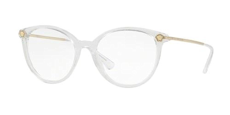 Versace APPAREL メンズ US サイズ: 54/18/140 カラー: クリア B07BQBNL58