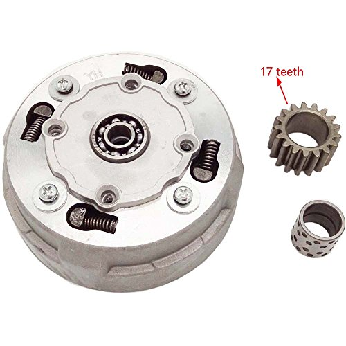 Mx-M 17 Tooth Automatic Clutch Assembly for 50cc 70cc 90cc 110cc 125cc ATV Dirt Bike Go Kart Pit Bike Quad Go - Dirt Clutch Automatic Bikes