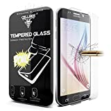 Galaxy S6 Screen Protector, CellBee [Shielding Gladiator] Samsung Galaxy S6 Premium High Definition Shockproof Clear [Tempered Glass] Screen Protector 0.3mm Thickness 2.5D Curved Edge-Retail Packaging Warranty Applied