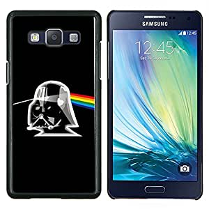 TECHCASE---Cubierta de la caja de protección para la piel dura ** Samsung Galaxy A5 ( A5000 ) 2014 Version ** --Álbum Rosa Trooper Negro Sci Fi