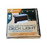 Cheap I-Zoom Solar Powered Deck Lights, 3-Pack, Light Sensor Activated