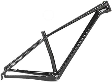 MAIKONG Cuadro de Bicicleta de montaña de Fibra de Carbono Cuadro ...