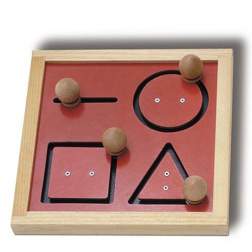 [해외]꼬리표 장난감 SM112 기하학적 추적 보드 / TAG Toys SM112 Geometric Tracking Board