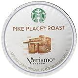 Starbucks Verismo Pike Place Roast Blend Coffee Pods, 12 Pods by Starbucks
