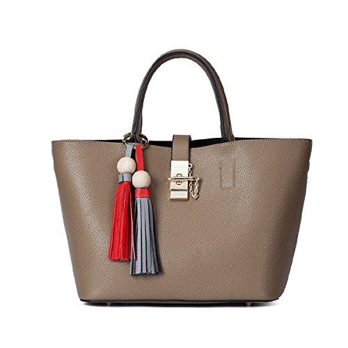 Miyoopark , Damen Tote-Tasche braun