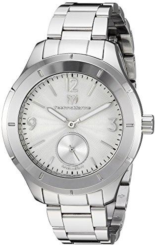 Technomarine Men's MoonSun Quartz Watch with Stainless-Steel Strap, Silver, 16 (Model: TM-117029) (Watch Men Technomarine)