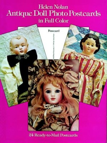 (Antique Doll Photo Postcards in Full Color (Card Books))