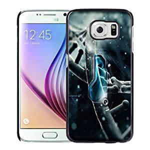 NEW Unique Custom Designed Samsung Galaxy S6 Phone Case With Robotics 3D Render_Black Phone Case Kimberly Kurzendoerfer