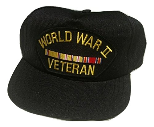 HMC World War Two asiatic Pacific Veteran w/Ribbons Adjustable Ball Cap
