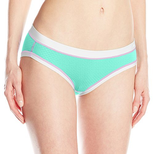 ExOfficio Women's Give-n-Go Sport Mesh Bikini Brief, Isla, Large