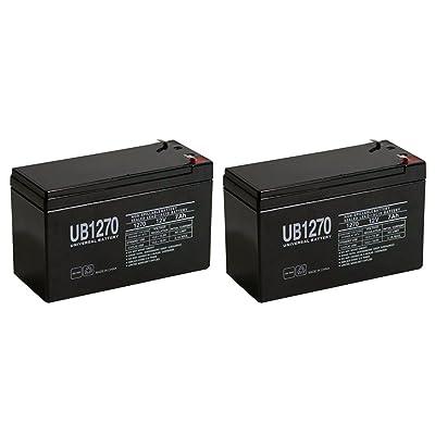 12V 7Ah SLA batterie Remplace Gp1272NP7–12Bp7–12Npw36–12Ps-1270Ub1280–Lot de 2