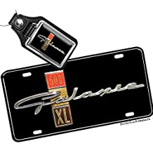 1963 Ford Galaxie 500 XL Aluminum License Plate with free key ring