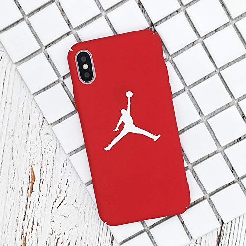1 piece Flyman Jordan Cover Case For iPhone 7 8 Plus 6 S 6S 6Plus Celular Hard PC Phone Carcasa Cases For iPhone X 5 5S XR XS MAX Fundas]()