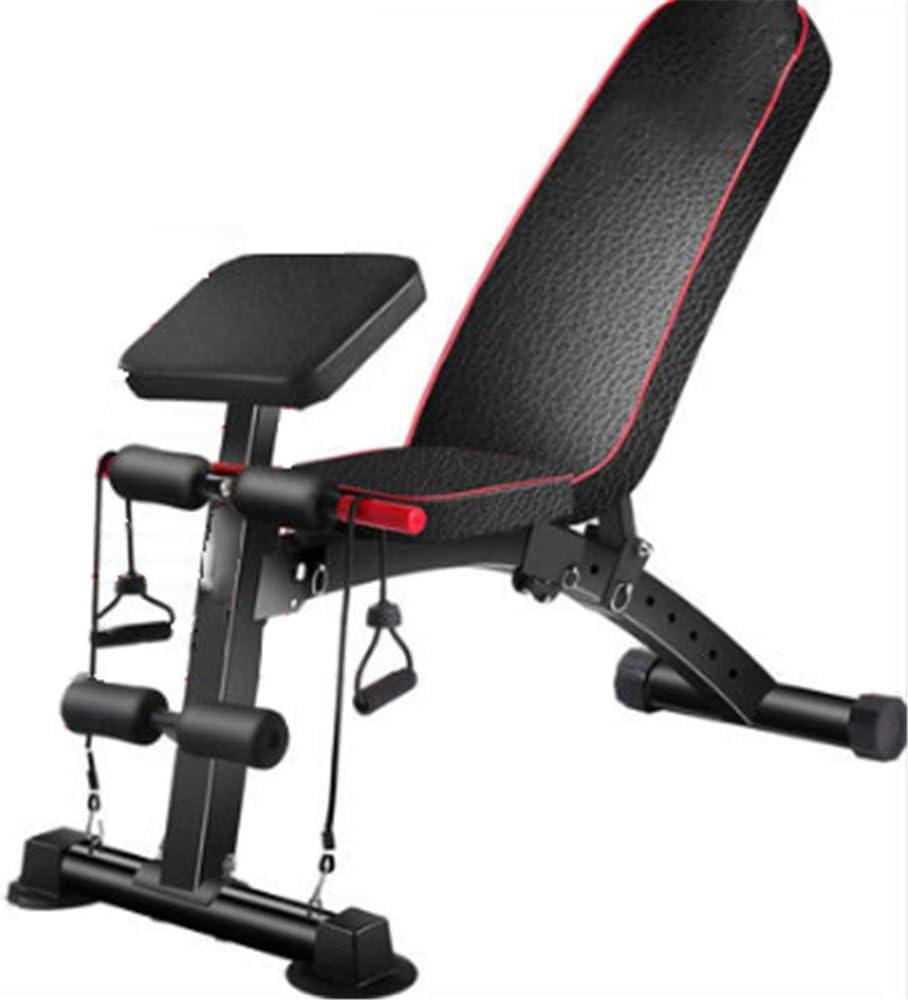 調整可能な重量テーブル、折りたたみ式、ポータブル着席エクササイズテーブル、快適で耐久性があり、ベンチプレス、シットアップ、レッグリフト、フルボディフィットネスに適しています