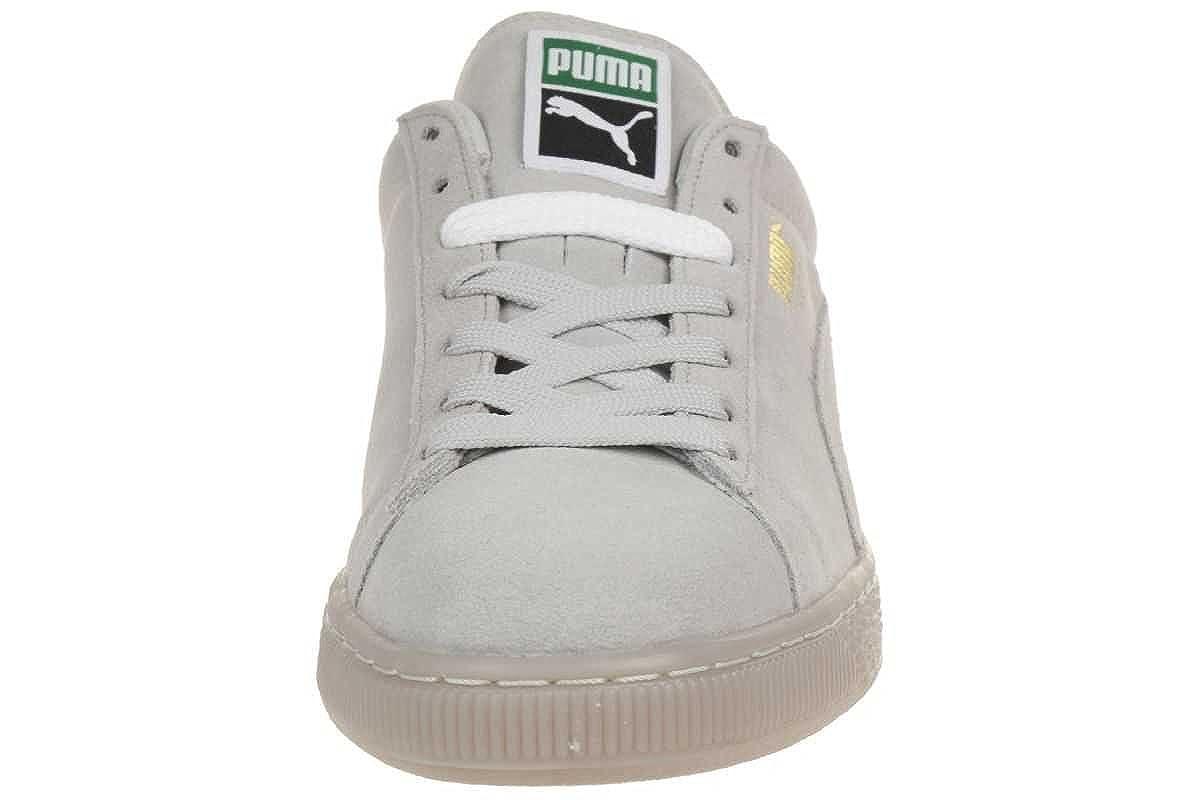 Puma Suede Classic Iced Schuhe 13,0 gray violetgold foil