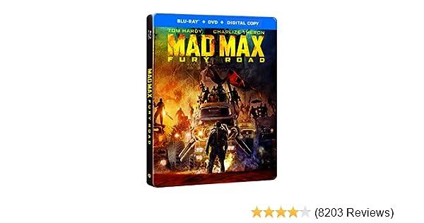 Amazon.com: Mad Max Furia En El Camino Steelbook (BD+DVD+DigCopy) Español Latino: Movies & TV