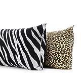 Multiple Colors - Animal Print Body Pillow Protectors- 21''x54''-Cheetah