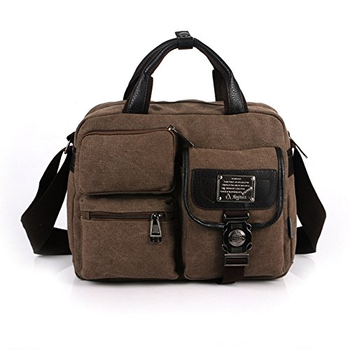 HIFISH HB110024C4 Canvas Leisure Men's Handbag,Square Cross-Section Soft - Mens Wallets Couch