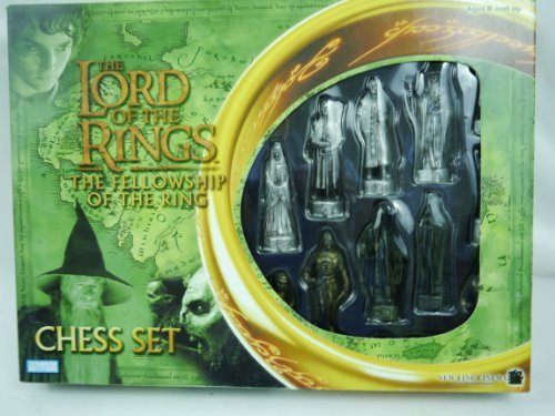 Lord of the Rings - Fellowship of the Ring Chess (Rings Chess Set)