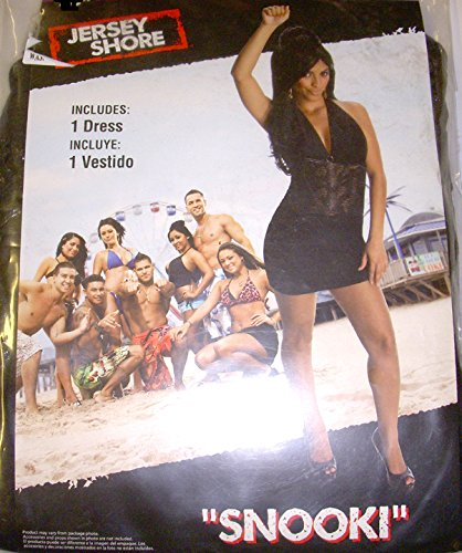 Jersey Shore Snooki Costumes (MTV Jersey Shore Snooki Costume Dress M 8-10 NWT)