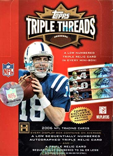 - 2006 Topps Triple Threads Football Hobby Box
