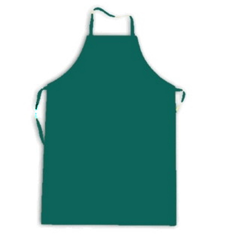 Grembiule Verde O Parananza Cerato o In PVC Impermeabile H020