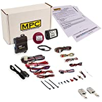 Complete 4-Button Remote Start Keyless Entry Kit 2011-2017 Buick Push To Start Regal