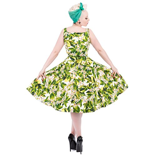 H&R London Vintage Kleid - Lemon Blossom