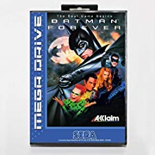 Sega MD games card - Batman Forever with box for Sega MegaDrive Video Game Console 16 bit MD card - MD card Game Card For Sega Mega Drive For Genesis