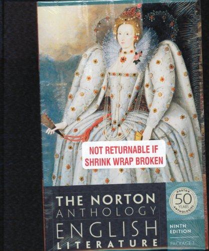 Norton Anthology Of Engl Lit Set1 W/Sir Gawain &The Green Knight