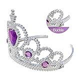 Kuzhi Frozen Crown Tiara and Wand Set – Silver