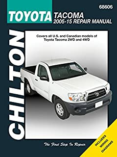 toyota tacoma 2005 thru 2015 all 2wd and 4wd models haynes repair rh amazon com 2008 toyota tacoma haynes manual 2008 toyota tacoma repair manual download