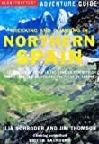 Trekking and Climbing in Northern Spain by Jim Thomson front cover