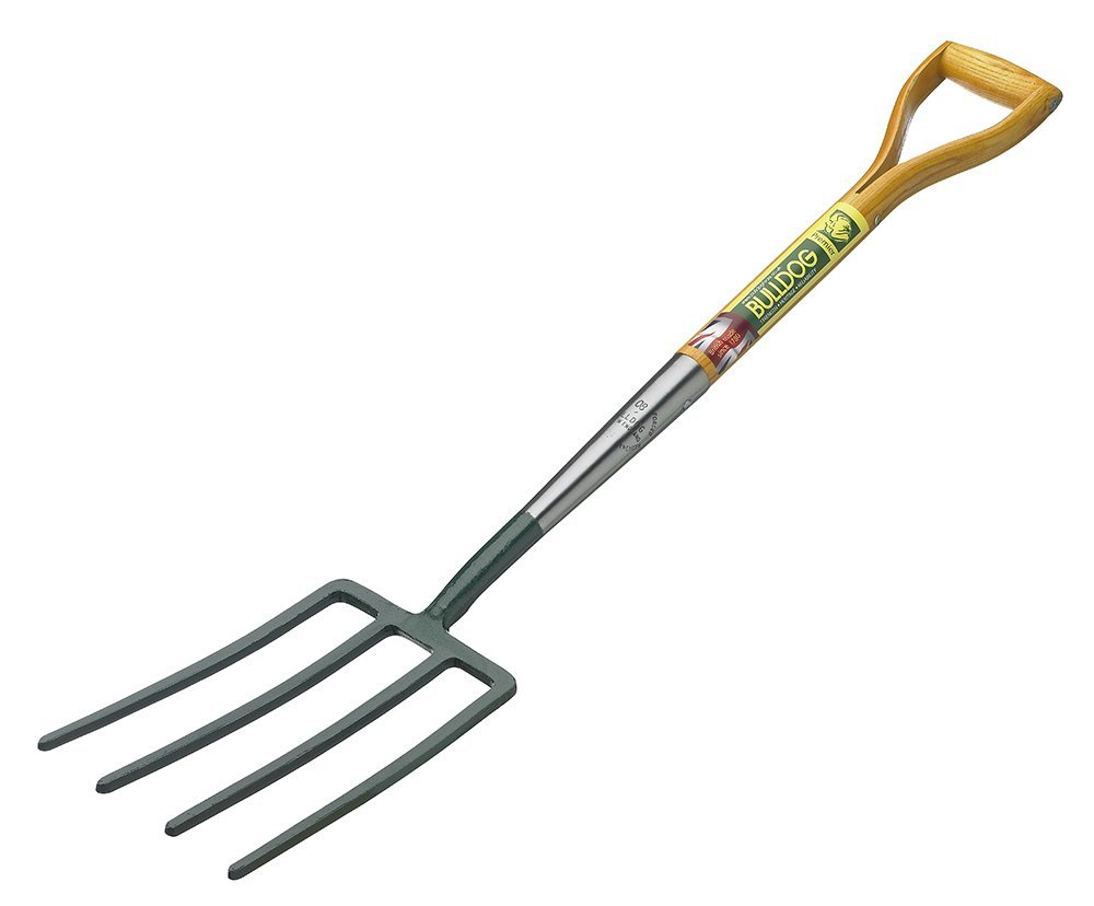 Bulldog 5704043220 Premier Long Handled Digging Fork