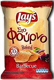 product image for Lay's Baked Potato Chips From Greece with Barbeque - 5 Packs X 64g (2.3 Ounces Per Pack)