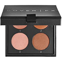 COVER FX The Perfect Light Highlighting Palette (Medium Deep)