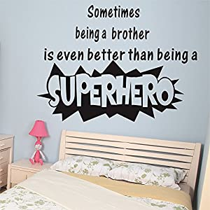 WALL S MATTER Sometimes Being A Brother Is Even Better Than Being