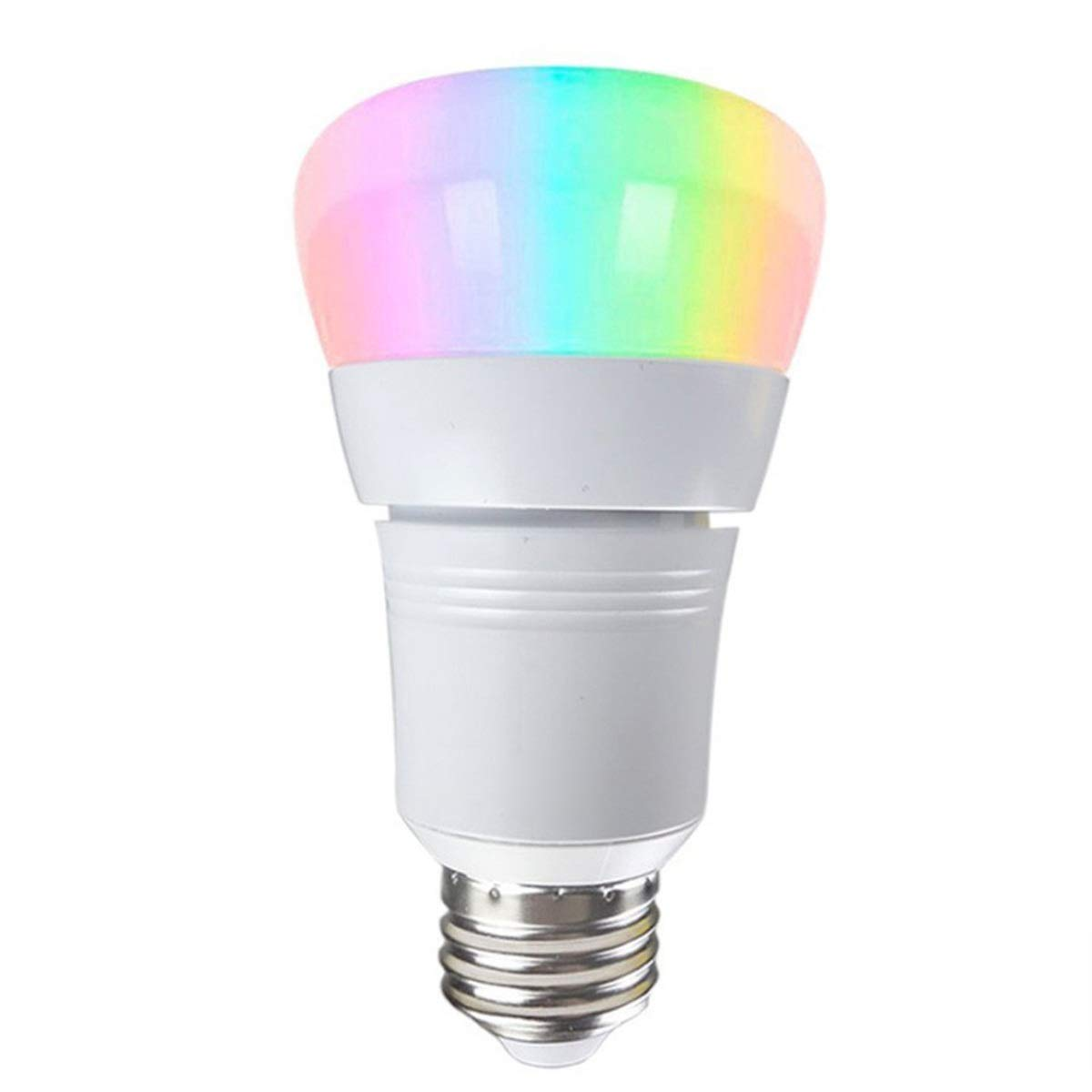 Light WiFi Voice Bulb APP Docking Alexa Google Home Smart Bulb, Dimmable White and RGB colors 60W Equivalent, WiFi Smart LED Light Bulb E27 E26 LED