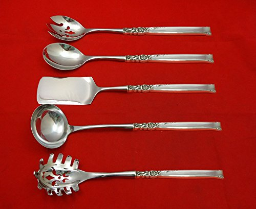 Silver Rose by Oneida Sterling Silver Hostess Set 5pc HHWS Custom Made