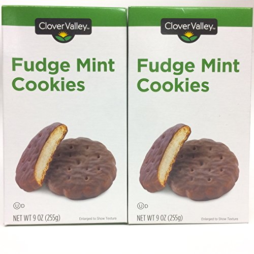 Mint Thin Cookies (Select Box Quantity Below) (2 BOXES)